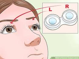 image led remove contact lenses step 4