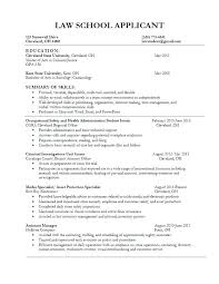 Legal Resume Unique Resume For Law School Application Steadfast60