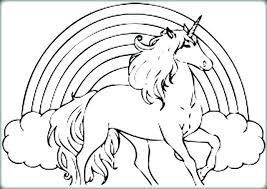 Coloring Pages Free Printable Unicorn Coloring Pages Free