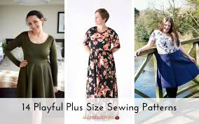 Plus Size Dress Patterns Awesome 48 Playful Plus Size Sewing Patterns Seams And Scissors