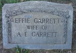Effie Garrett (1904-1940) - Find A Grave Memorial