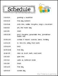 babysitting schedule template babysitter schedule rome fontanacountryinn com