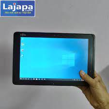 Laptop 2 in 1 fujitsu arrows tab q507 pe màn hình cảm ứng full  hd(1920x1200) atom z8550/4gb/64gb/128 {quà tặng trị giá 680k} máy tính 2  trong 1 laptop nhat ban, laptop gia