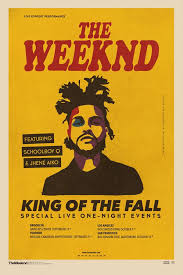 King Of The Fall Poster Muse Ic In 2019 The Weeknd Schoolboy Q