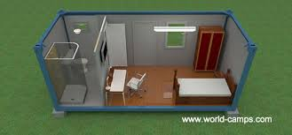 ISO Container Accommodation - Double Room with Bathroom