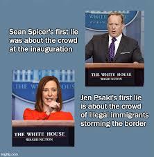 Spicer vs Psaki - Imgflip