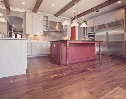 Walnut Floor Kitchen Black Walnut Heart Pine Beams In Atlanta