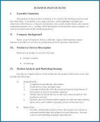 Executive Summary Outline Apa Style Executive Summary Template Example 4122
