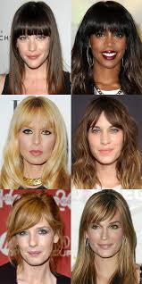 Hairstyle For Oval Face Shape the best and worst bangs for long face shapes beautyeditor 7233 by stevesalt.us