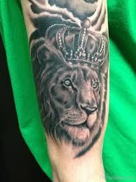 лев с короной тату тату лев татуировки львицы 168 фото и эскизы