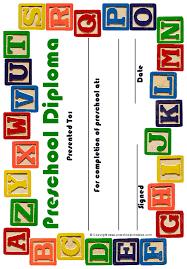 Graduation Certificate Template Word Amazing Printable Preschool Diploma Work InfantsPreK Pinterest