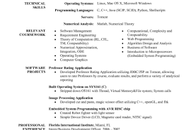 Resume Software Engineer Resume Template Astounding Dramatic