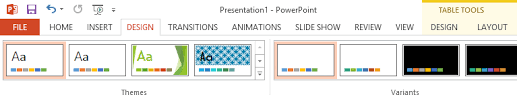 Design For Powerpoint 2013 Getting To Know Powerpoint Tutorial At Gcflearnfree