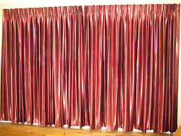 Maroon Curtains For Living Room B0035 Master Bedroom Darkening Curtain Maroon Colour