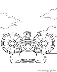 Zuma Sea Patrol Coloring Page Printable Coloring Page For Kids