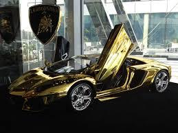25 Karat Auto Design Gold Lamborghini Yours For 7 5 Million