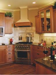 corner stove kitchen layout