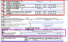 how to apply for a social security card