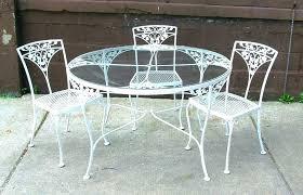 retro metal patio furniture vintage outdoor sale iron for94 furniture