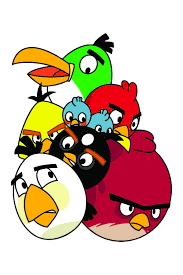ANGRY BIRDS VECTOR IMAGES PNG CDR SVG AI INSTANT DOWNLOAD | Angry birds  characters, Angry birds, Bird wallpaper