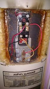 electrical is this electric water heater wiring correct home before was operating at 120v this way