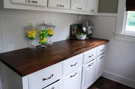 image of butcher block countertop ikea