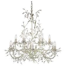 24912 12cr almandite 12 light cream gold chandelier