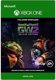 com plants vs zombies garden warfare 2 deluxe edition xbox one digital code