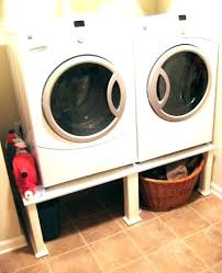 diy washer dryer pedestal washer dryer pedestal pedestals and washer dryer stand diy plans
