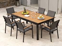 Emejing Table De Jardin Bois Alu Pictures Amazing House Design