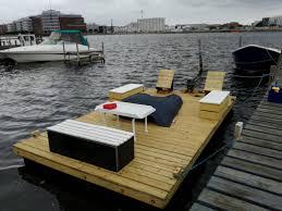 my homemade raft barge