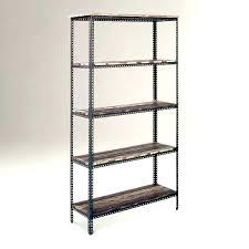 black metal shelf brackets rustic metal shelves book wood and wall shelf brackets black steel shelf