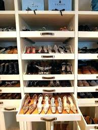 closet shoe shelves storage ideas master walk in shelf closet shoe shelves storage
