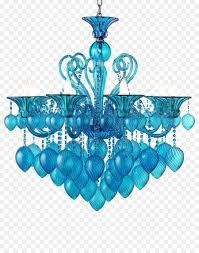 Licht Kronleuchter Aqua Glas Blau Möbel Kronleuchter