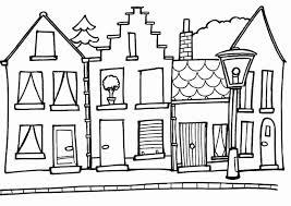 Kleurplaat Huis Mooi Tekeningen Van Huizen Tm79 Kleurplaatsite