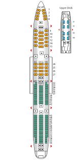 Boeing 747 Seat Configuration Pngline
