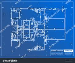 architectural design blueprint. Brilliant Blueprint Sample Of Architectural Blueprints Over A Blue Background Blueprint Examples Throughout Design