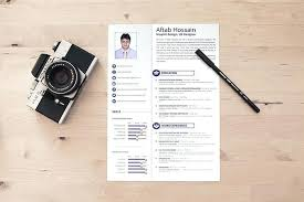 Contemporary Resume Templates Free Cute Graphic Design Download With ...