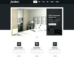 best furniture websites design. Amazing Of Best Furniture Websites Design 6 Website Templates Free Download  Interior Web Pages Cheap For . Sites 5 Designer Top