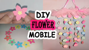 Paper Flower Mobiles Diy Paper Flower Mobile Craftsolife