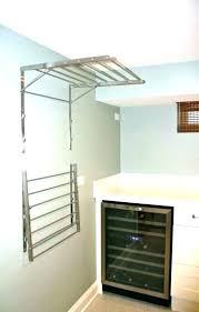 pull down closet wall mounted closet rod wall mount clothes rod wall mount hanger valet wall