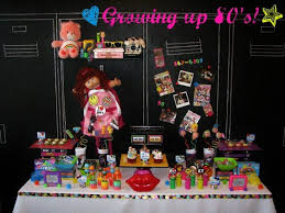 birthday party ideas roaring 80s party