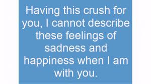 Sad Crush Quotes Lovequotesmessages