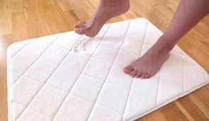 non slip memory foam bath mat memory foam bath mat memory foam cushioned bath rug runner 22 x 60