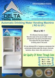 Filtered Water Vending Machine New Automatic Drinking Water Vending Machine Water Purifier And Coin
