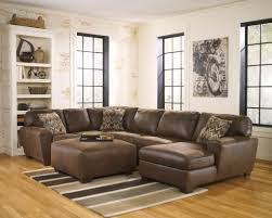 Soft Classic Foxworth Java Sectional Aarons Rental Living Room