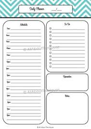 todo checklist 6 printable chevron planners printable daily and weekly planner