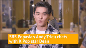 K-pop singer DEAN hanging backstage with Andy Trieu! - YouTube
