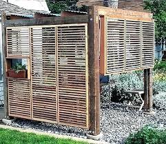 outdoor privacy screen ideas wooden screens designs for decks glass uk