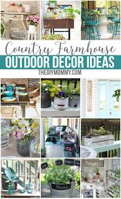 Wonderful Diy Patio Decorating Ideas Gorgeous Country Farmhouse Outdoor Decor To Design Inspiration
